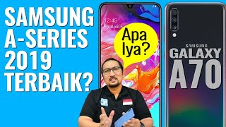 Video Review Lengkap Samsung Galaxy A70: Samsung 2019 + Snapdragon, Baterai dan Layar Besar - Indonesia MP3, 3GP, MP4, WEBM, AVI, FLV Mei 2019