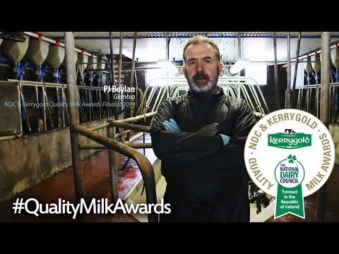 PJ & Bernie Boylan's Dairy Farm | NDC & Kerrygold Quality Milk Awards Finalist 2014