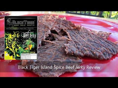 Black Tiger Island Spice Beef Jerky Review