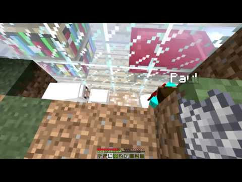 Minecraft: Ant Farm Survival – Part 2 with Badger, Rabbit, Shrimp