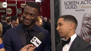 Nonton Aldis Hodge and Neil Brown Jr I SAG Awards Red Carpet 2016 I TNT Film Subtitle Indonesia Streaming Movie Download