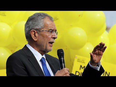 Αλεξάντερ Βαν Ντερ Μπέλεν: Υποψηφιότητα – ανάχωμα στην άνοδο της αυστριακής ακροδεξιάς