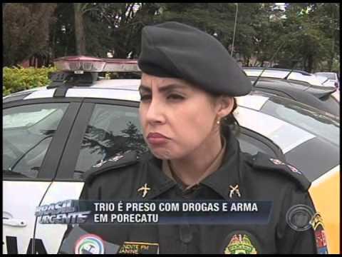 Trio é preso com drogas e armas em Porecatu (18/05)