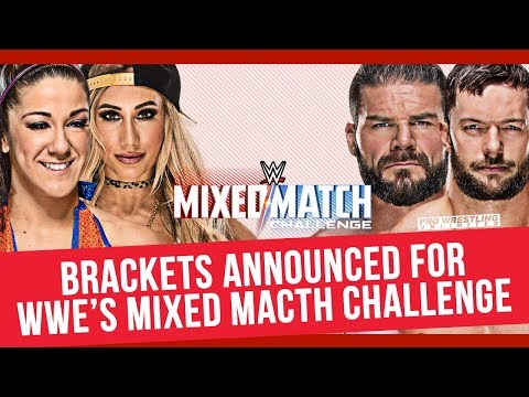 Brackets Revealed For WWE's Mixed Match Challenge