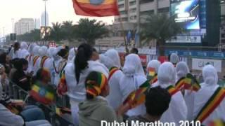 Ethiopian Music - Dubai Marathon 2010