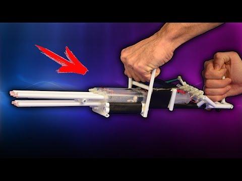 Как сделать пушку на дому 164