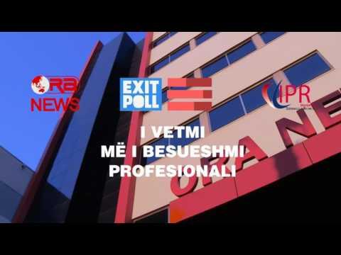 Exit Poll i Ora News dhe IPR Marketing më 25 qershor, ora 19:00 në ekranin e Ora News