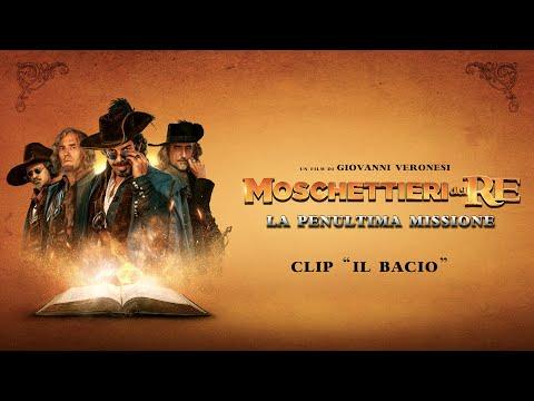 Preview Trailer Moschettieri del Re, clip Il bacio