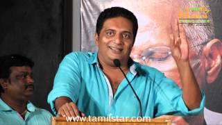 Prakash Raj at Un Samayal Arayil Movie First Look Launch