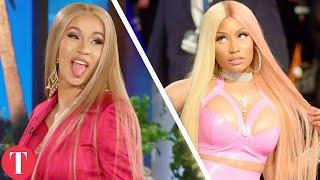 Video Cardi B VS. Nicki Minaj: Who Is The Queen Of Rap? MP3, 3GP, MP4, WEBM, AVI, FLV Juli 2018