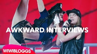 Video Eurovision interviews: Awkward moments Lys Assia, Tanja, Eduard, Valentina, Mariya Yaremchuk MP3, 3GP, MP4, WEBM, AVI, FLV Desember 2018