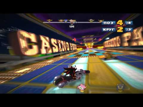 обзор Sonic & SEGA All-Stars Racing (CD-Key, Steam, Region Free)