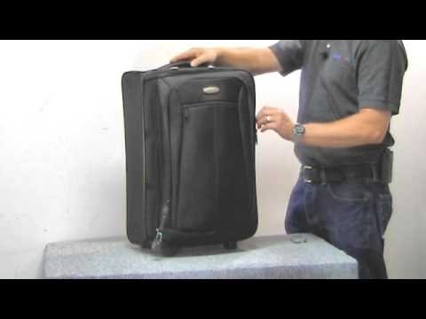 Samsonite Luggage Review - Silhouette 11 Upright Garment Bag Carry-on