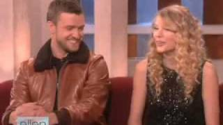 Taylor admitted to Ellen during her interview that she has had a longtime crush on Justin Timberlake. We then gave Taylor the ...