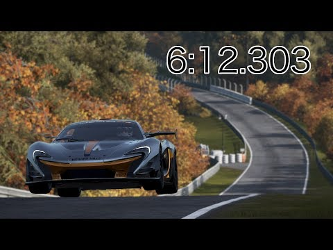 Project CARS 2 - McLaren P1 GTR - Nürburgring Nordschleife - 6:12.303 World Record