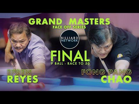 EFREN REYES vs FONG PANG CHAO | FINAL - Race to 50  | GRAND MASTERS | 9 Ball
