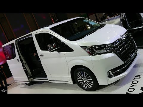 Rent a car NEW Toyota Majesty (2019) Video