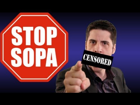 SOPA PIPA - With the government still trying to pass the PIPA bill, many web hosts are