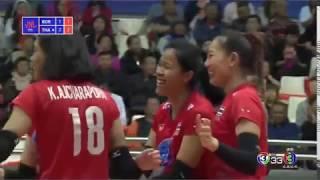 ไทย vs เกาหลีใต้ Volleyball Nations League 2019