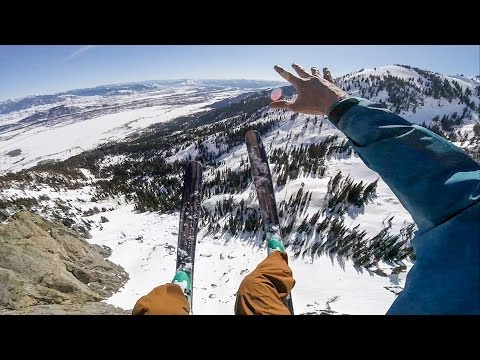 Marshall Miller's Birthday Ski BASE Jump
