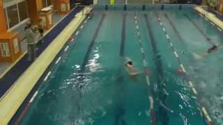 Соревнования по прикладному плаванию 2015 (видео №9)