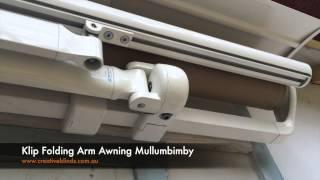 Klip Folding Arm Awning Mullumbimby