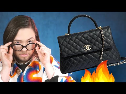 ROASTING A CHANEL COCO HANDLE BAG - LIVE