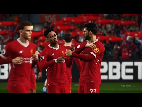 PES 2018 ML (EPL) #7 CRYSTAL PALACE VS LIVERPOOL