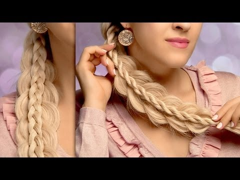 Two easy yet intricate side swept braids – cute and easy everyday hairstyles for long hair tutorial
