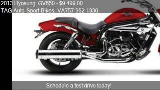 7. 2013 Hyosung  GV650  - for sale in Virginia Beach, VA 23464