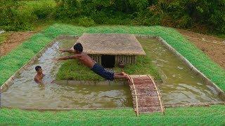 Video Unbelievable! Build Swimming Pool Around Secret Underground House MP3, 3GP, MP4, WEBM, AVI, FLV Desember 2018