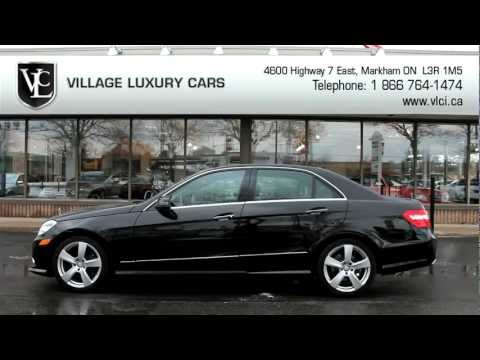2010 Mercedes-Benz E350 4Matic - Village Luxury Cars Toronto