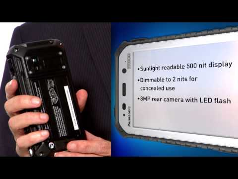Panasonic Toughpad Rugged Handheld Tablets – Official Overview