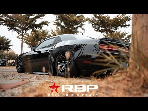 Dodge Challenger on RBP Wheels