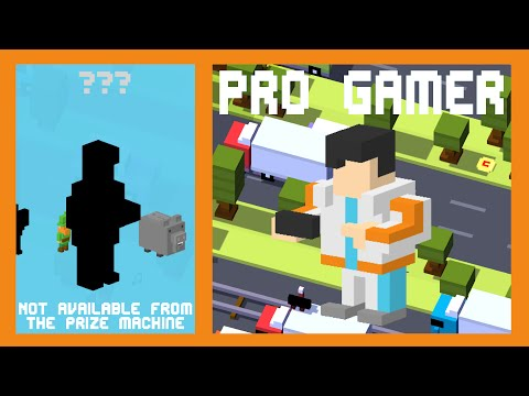 Crossy Road Pro Gamer | 100 Score Speed Run! | New Secret Character Korean Update (ios/android)