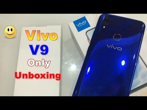 Vivo V9 Blue color variant unboxing.....bus unboxing hai or kuch nahi