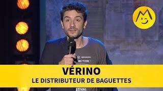Vérino - Le distributeur de baguettesYoutube : https://www.youtube.com/user/FestivalDuRireTVFacebook : https://www.facebook.com/Montreux.Comedy.FestivalTwitter : https://twitter.com/MontreuxComedyVine : https://vine.co/MontreuxComedyInstagram : https://instagram.com/montreuxcomedy/