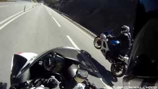 10. YAMAHA YZF-R1 2011 VS GIXXER 1000 K8 - HighSpeed Runs & Fly By's (GO PRO HD)
