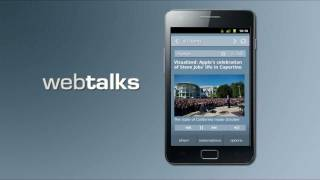 WebTalks YouTube video