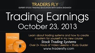 Download Video Trading Earnings on Stocks - By the Charts - Oct 23, 2013 MP3 3GP MP4