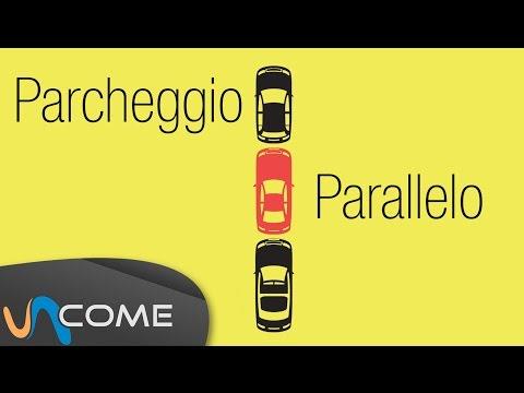 come effettuare il parcheggio parallelo!