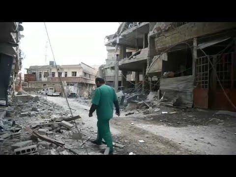 Mehr als 350 Tote in Ost-Ghouta - Krankenhäuser unter ...