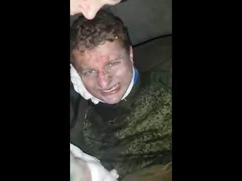 Допрос пленного боевика. 01.02.2015. Украина (видео)