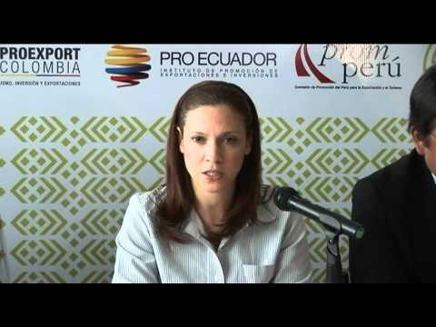 Encuentro Empresarial Andino dejó expectativas de negocios por US$100 millones