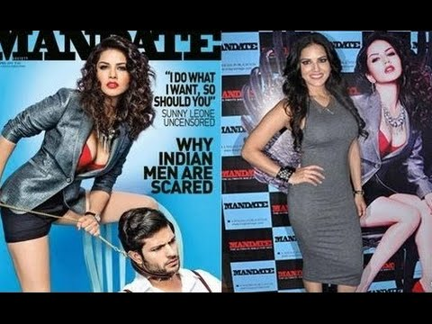 Porn Star Sunny Leone on Cover Page of Mandate Magazine – LEAKED