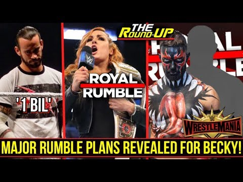 MAJOR PLANS FOR BECKY LYNCH AT THE RUMBLE!, CM Punk Return 'Price', Finn Balor WM Tease - Round Up