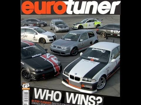 eurotuner Cover Shoot timelapse