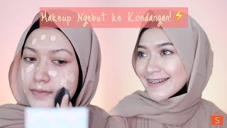 Video MAKEUP KONDANGAN BURU BURU | saritiw MP3, 3GP, MP4, WEBM, AVI, FLV Januari 2019