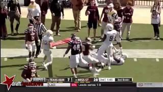 Jarvis Harrison vs Mississippi State (2014)