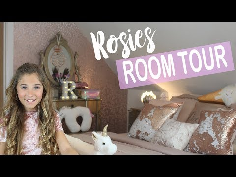 MY FIRST ROOM TOUR! | Rosie McClelland